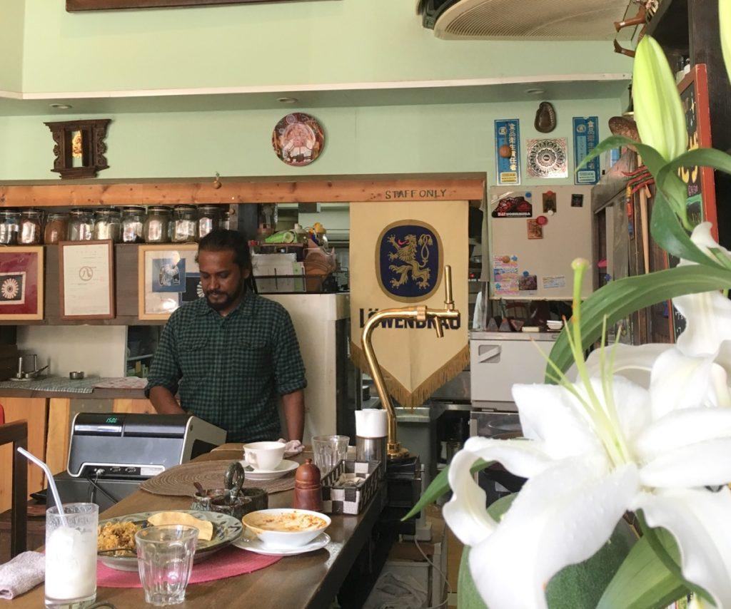 カフェ ハパナのカレーはお袋の味だった。